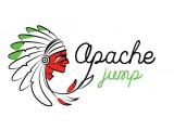 """Логотип Батутный парк """"Apache Jump"""""""